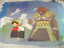 ONE PIECE LUFFY / RORONOA ZORO ANIME PRODUCTION CEL & BACKGROUND 2