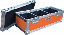 "7"" SINGOLO 300 SWAN Flight Case Vinile Record Box (Arancione)"