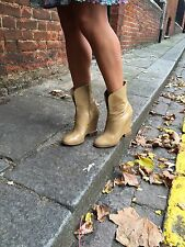 Chloe bottes beige taille
