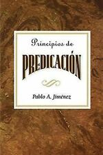Principios de Predicacion by Jiménez, Pablo A., Abingdon Press