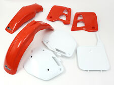 UFO Honda Motocross CR 125 1991 Super EVO Plastic Kit OEM colours