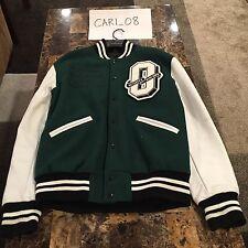 OVO X Roots 2014 Green Tour Varsity Jacket - M
