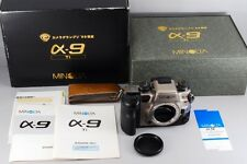 【Rare!! TOP MINT+++!!】Minolta α9 TI 35mm SLR Camera Body only W/Box From Japan