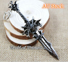 World of Warcraft FrostMourne Cataclysm Game Keyring Character Weapon Figures 09