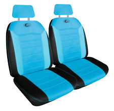 Neon Fx Blue Mesh Size 30 Front Seat Covers One Pair Air Bag Safe