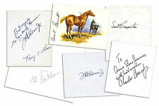 Scott Carpenter, John Glenn, Charles Conrad Signatures