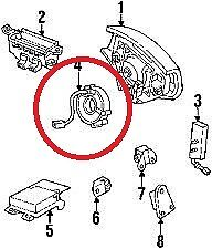 NEW 88969652 CABLE AND CLOCK SPRING +2 WIRES FITS FOR PONTIAC VIBE 03-08
