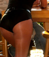 XXXL Black Dolfin Shiny Shorts Running for Hooters Uniform  Costume
