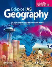 Edexcel AS Geography Textbook, Holmes, David Mixed media product Book The Cheap