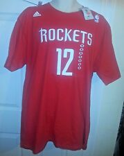 DWIGHT HOWARD HOUSTON ROCKETS #12 SHIRT.XL.NEW W/TAG.RED.JERSEY STYLE.ADIDAS