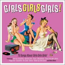 Girls Girls Girls! VARIOUS ARTISTS Best Of 75 Songs GIRLS NAMES Music NEW 3 CD