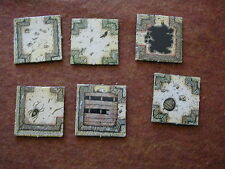 ROOM TILES LOT 17 DUNGEONQUEST / GAMES WORSHOP