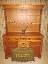 Tell City Young Republic Hard Rock Maple China Sideboard Hutch 888 889