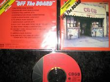 Giappone CD recorded live off the board AT CBGB Hardcore HC OI PUNK SKA