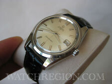 ULTRA RARE OMEGA SEAMASTER CROSS HAIR DIAL AUTOMATIC DATE WATCH 35MM SERVICED