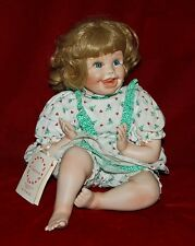 """Porcelain DOLL """"SHANNON"""" By CINDY ROLFE Private Florida Collection 14"""" Cute Doll"""