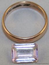 Natural piedra suelta Rosa Kunzita 8x11mm Octágono facetado Ct 3,45 ku15