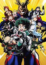 "12"" x 17"" Boku no Hero Academia My Hero Academia Anime Poster"
