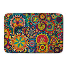 Mandala Floor Welcome Door Mat Bathmat Doormat Indoor Coral Non-slip Rug Carpet