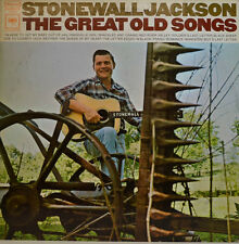 "STONEWALL JACKSON - THE GREAT OLD SONGS COLUMBIA CS 9708 12"" LP (X 243)"