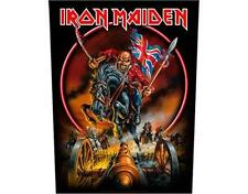 OFFICIAL LICENSED - IRON MAIDEN - ENGLAND SEW ON BACK PATCH METAL EDDIE