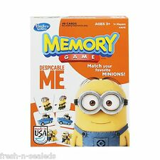 Minion Memory Game Card Match Kid Home Training 48 Picture Learn Friend Fun Toy