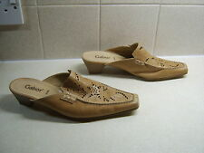 Gabor Ladies Leather Mules, Size Uk 5, Really Good Condition