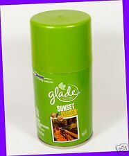 1 Glade SUNSET WALK Automatic Spray Refill Air Freshener Fall Collection