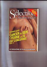 Reader's Digest Selection N° 475 Du 01/09/1986