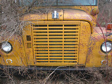 1968 international harvester school bus front grill