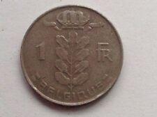Belgium 1 Franc coin