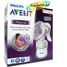 PHILIPS Avent Comfort naturale manuale BREAST PUMP & Bottiglia privo di BPA SCF330 / 20