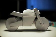 paperbikes v101 - ducati monster - naked motorcycle model kit