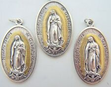 Our Lady Of Guadalupe Large Pendant Religious Christian Spanish Medal LOT 3