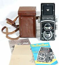 Rollei Rolleicord Va II  6x6 TLR Film Camera/75mm Xenar Lens, case