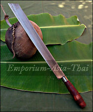 "043: NORTHERN THAI / HILLTRIBE 20"" KNIFE MACHETE FOR SURVIVAL JUNGLE SUGARCANE"