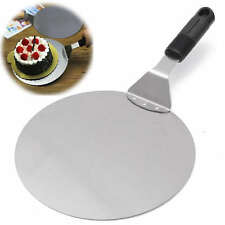 10'' Stainless Steel Pizza Peel Bakers Paddle Spatula Tray Pan Tableware Tool