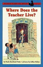 Where Does the Teacher Live?: Puffin Easy-to-Read Level 2 (Easy-to-Read, Puffin