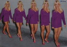 Britney spears-a3 poster (environ 42 x 28 CM) - sexy captures fan collection NEUF