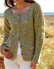 Crochet Cardigan PATTERN (NOT FINISHED ITEM)