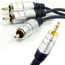 Pure Jack 3,5 Mm A 3 fonos 4 Polo Av out/tv cable/lead