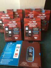 7 Net10 Cell Moto Slider EM326G Cellular Phones-New