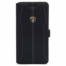 Lamborghini Huracan Cuir iPhone 6/6s Book type Case Cover Noir