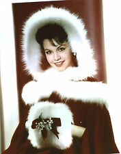Annette Funicello in fur 8x10 photo S2836