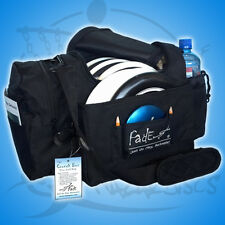 NEW BLACK Fade Gear CRUNCH BOX fits about 12 discs Disc Golf Bag FAST SHIP
