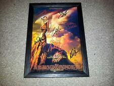 "THE HUNGER GAME : CATCHING FIRE PP SIGNED & FRAMED 12X8"" PHOTO POSTER POSTER"