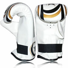 Elite Style Heavy Bag Training Boxing Gloves Fight Punch Bag Mitts MMA Training