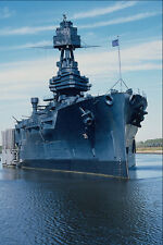 637086 Battleship USS Texas Moored At San Jacinto Battlefield A4 Photo Print