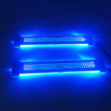 Blue Car Interior Dash Floor LED Decorative Light Atmosphere Lamp W/ Adapter BL