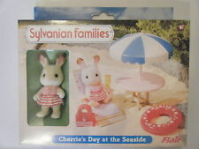 New Sylvanian Families Cherrie's Day at the Seaside. Cherrie Rabbit Item 4672